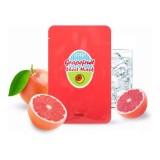 Увлажняющая тканевая маска для лица с экстрактом грейпфрута A'Pieu Grapefruit & Sparkling Sheet Mask 23 гр