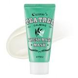 Ночная противовоспалительная маска с чайным деревом A'PIEU Fresh Mate Tea Tree Mask 50 мл