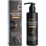 Шампунь для волос с муцином улитки Ayoume Black Snail Prestige Shampoo 240 мл