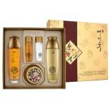 Набор с золотом и экстрактом красного женьшеня Bergamo Yezihu Gold Skin Care Set