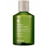 Успокаивающая оздоравливающая сплэш-маска с экстрактом зеленого чая BLITHE Patting Splash Mask Soothing & Healing Green Tea 150 мл