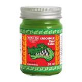 Зелёный бальзам для заживления кожи Herbal Star Crocodile Thai Balm 50 мл