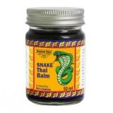 Чёрный бальзам с королевской коброй Herbal Star Snake Thai Balm 50 мл
