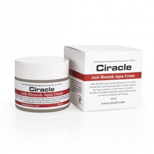 Увлажняющий крем-гель для проблемной кожи Ciracle Anti-Blemish Aqua Cream 50 мл
