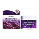 Увлажняющий крем с жемчугом для сияния кожи DEOPROCE Moisture Brightening Pearl Cream 100 гр