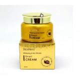 Улиточный крем для осветления и разглаживания кожи DEOPROCE Whitening & Anti-Wrinkle Snail Cream 100 мл