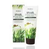 Крем для рук и ног с фильтратом улитки Deoproce Snail Recovery Moisure Hand Foot Cream 100 мл