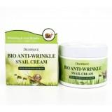Биокрем против морщин с экстрактом улитки Deoproce Bio Anti-Wrinkle Snail Cream 100 гр