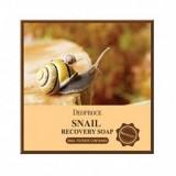 Восстанавливающее мыло с муцином улитки Deoproce Snail Recovery Soap 100 гр