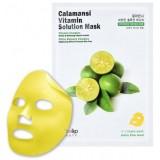 Витаминная тканевая маска с экстрактом каламанси EYENLIP Calamansi Vitamin Solution Mask