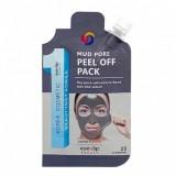 Маска-пленка очищающая Eyenlip Mud Pore Peel Off Pack 25 гр