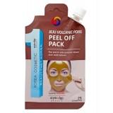 Очищающая маска-пленка Eyenlip Pocket Jeju Volcanic Pore Peel Off Pack 25 гр