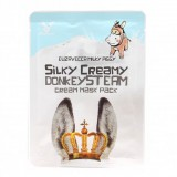 Маска с паровым кремом на основе ослиного молока Elizavecca Silky Creamy Donkey Steam Cream Mask Pack