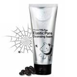 Пенка-маска с древесным углем для очищения и сужения пор Elizavecca Milky Piggy Elastic Pore Cleansing Foam 120 мл