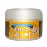 Маска тонизирующая с витамином C для сияния лица Elizavecca Milky Piggy Vitamin C 21% Ample Mask 100 мл