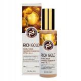 Тональная основа с золотом для сияния кожи ENOUGH Rich Gold Double Wear Radiance Foundation Spf50+Pa+++100 мл
