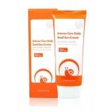 Осветляющий солнцезащитный крем с муцином улитки Enough Intense Care Daily Snail Sun Cream SPF50+ PA++++70 мл