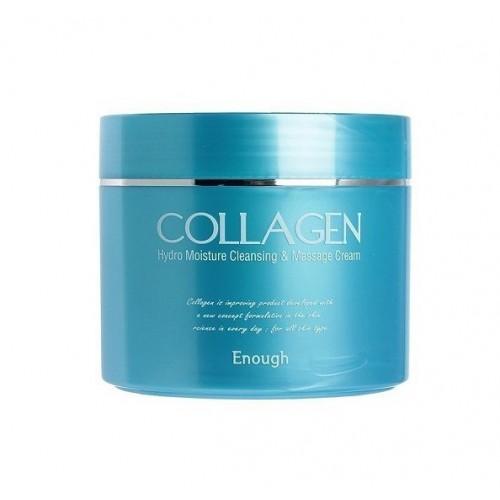 Омолаживающий массажный крем для лица и тела Enough Collagen Hydro Moisture Cleansing & Massage Cream 300 мл
