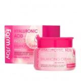Балансирующий крем с гиалуроновой кислотой FARMSTAY Hyaluronic Acid Premium 100 гр