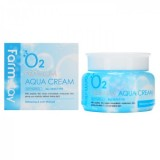 Увлажняющий крем с пептидами FARMSTAY O2 Premium Aqua Cream 100 гр