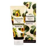 Очищающая пенка для лица с маслом авокадо FARMSTAY Avocado Premium Pore Deep Cleansing Foam180 мл