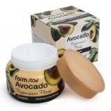 Отбеливающий лифтинг-крем для  лица с маслом косточек авокадо FarmStay Avocado Premium Pore Cream 100 гр
