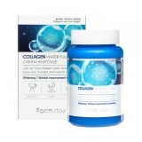Крем-сыворотка с коллагеном FARMSTAY Collagen Water Full Moist Cream Ampoule 250 мл