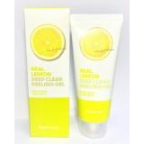 Пилинг-скатка с экстрактом лимона Farm Stay Real Deep Clear Peeling Gel Lemon 100 мл