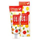 Очищающая пенка с комплексом витаминов FARMSTAY DR-V8 Vitamin Foam Cleansing100 мл