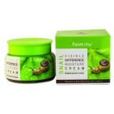 Увлажняющий крем со слизью улитки FARMSTAY Visible Difference Moisture Cream Snail 100 мл
