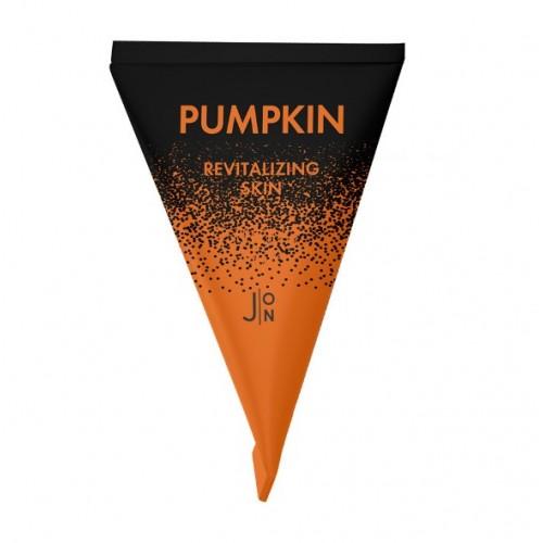 Ночная тыквенная маска для  лица с экстрактом тыквы J:ON Pumpkin Revitalizing Skin Sleeping Pack 3 мл