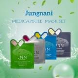 Маска для лица тканевая JNN JUNGNANI Clinic Medicapsule Mask 23 мл