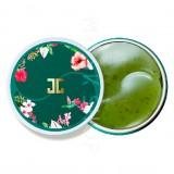 Гидрогелевые патчи для глаз с лепестками зелёного чая JayJun Green Tea Eye Gel Patch 60 шт
