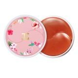 Гидрогелевые патчи для глаз с цветами гибискуса JayJun Roselle Tea Eye Gel Patch 60 шт