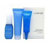 Мини-набор интенсивно увлажняющих средств Laneige Water Bank Hydro Trial 3 Kit