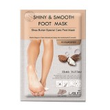 Маска для ног с маслом ши Labute Shiny & Smooth Foot Mask