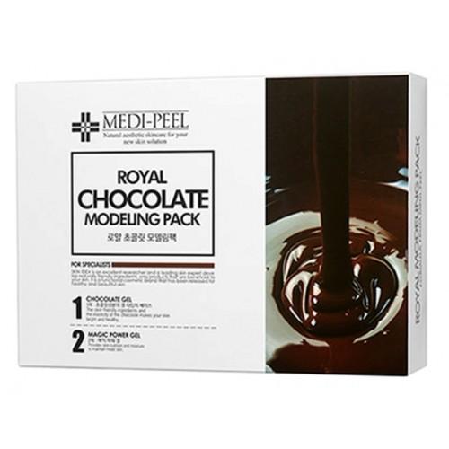 Альгинатная Маска для лица с какао MEDI-PEEL Modeling Pack Royal Chocolate 50 гр