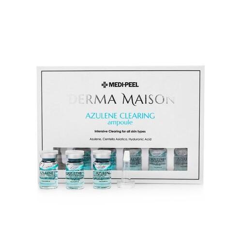 Концентрированные ампулы с азуленом MEDI-PEEL Derma Maison Azulene Clearing Ampoule 7 мл