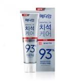 Отбеливающая зубная паста c цеолитом Median Dental IQ 93% White 120 гр
