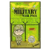 Маска для лица мужская Mijin Military Mask 25 гр