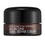 Улиточный крем для лица Mizon All In One Snail Repair Cream 15 мл