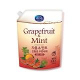 Средство для мытья посуды с грейпфрутом и мятой Mukunghwa Dishwashing Detergent Grapefruit & Mint 1,2 л