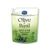 Средство для мытья посуды Олива и Базилик MUKUNGHWA Olive & Basil Dishwashing Detergent 1,2 л