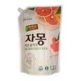 Средство с грейпфрутом для мытья посуды MUKUNGHWA Kitchen Soap Grapefruit Dishwashing Detergent Refill 1,2 л