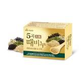 """Косметическое мыло-скраб """"5 злаков"""" Mukunghwa Grain Body Soap 100 гр"""