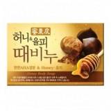 Косметическое мыло-скраб медовое Mukunghwa Honey Body Soap100 гр