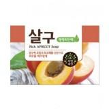 Косметическое мыло абрикосовое Mukunghwa Rich Apricot Soap 100 гр