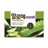 Косметическое мыло освежающее с алоэ Mukunghwa Fresh Aloe Soap 100 гр