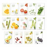 Маска для лица тканевая с экстрактами и маслами NATURE REPUBLIC Real Nature Mask Sheet
