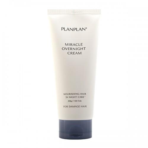 Несмываемый крем для поврежденных волос PLANPLAN Miracle Overnight Cream 200 гр